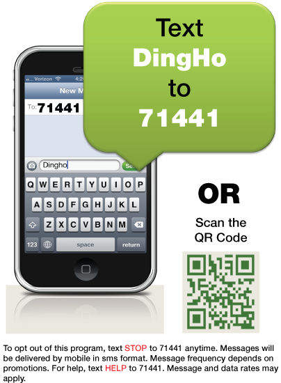 Ding Ho Restaurant Mobile Rewards Club